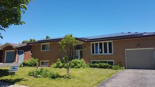 Standing Seam with Solar Panels